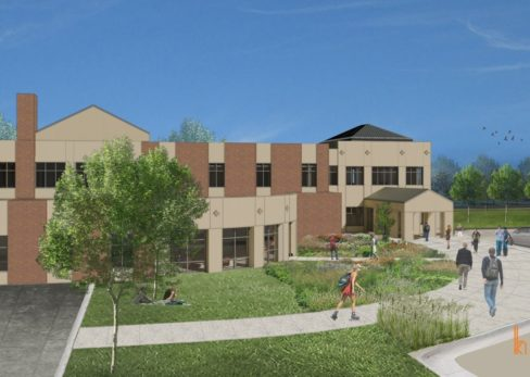 1510 DSU Student Services Back Rendering